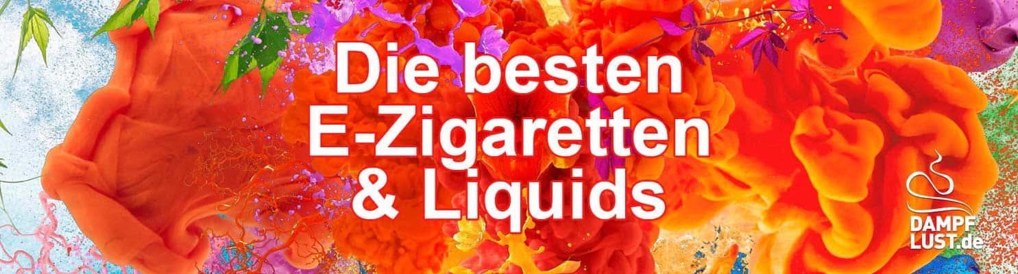 Dampflust Ezigaretten Liquids