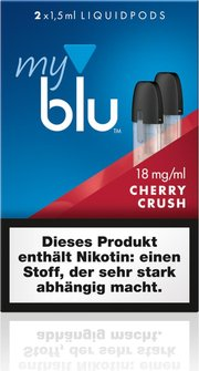 mylue podpack-Cherry Crush 18mg