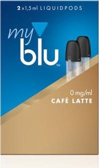 myblu-podpack-cafe-latte 0mg