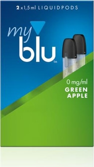 myblu-podpack-green-apple 0mg