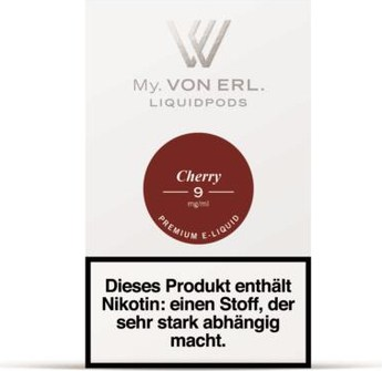 von Erl my E-Liquid Podpack Cherry 0,9mg
