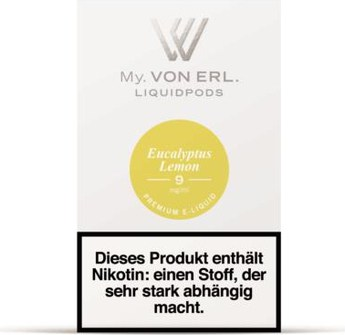 von Erl my E-Liquid Podpack Eukalyptus Lemon 0,9
