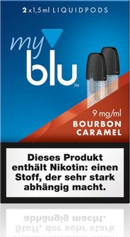 myblu Podpack Bourbon-Caramel 9mg