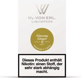 von Erl my E-Liquid Podpack Ginseng Ginger 0,9