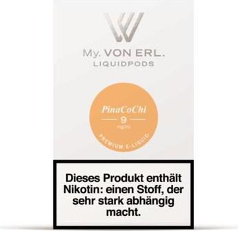 von Erl my E-Liquid Podpack PinaCoChi 0,9 mg