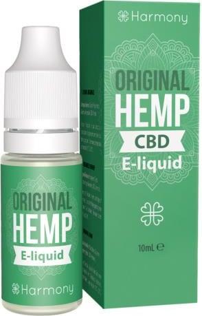 Harmony Origunal Hemp CBD E-Liquid