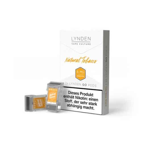 Lynden Go Pod Natural-Tobacco