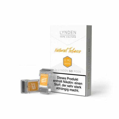 Lynden Go Pod Natural-Tobacco