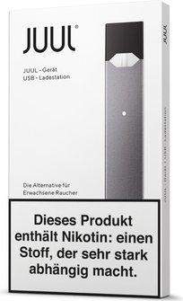 Jull E-Zigarette Akku-Device-schwarz-verpackung
