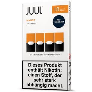 Juul Podpack-Mango-verpackung-18mg