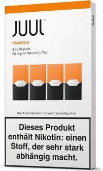 Juul Podpack-Mango-verpackung