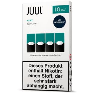 Juul Podpack-Mint-Verpackung-18mg