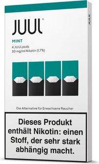 Juul Podpack-Mint-Verpackung