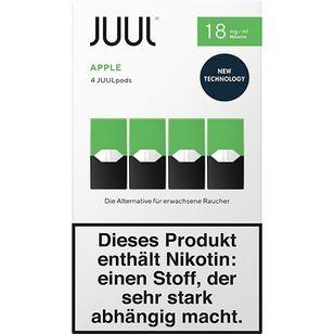 Juul Podpack-apple-verpackung-18mg