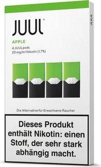 Juul Podpack-apple-verpackung