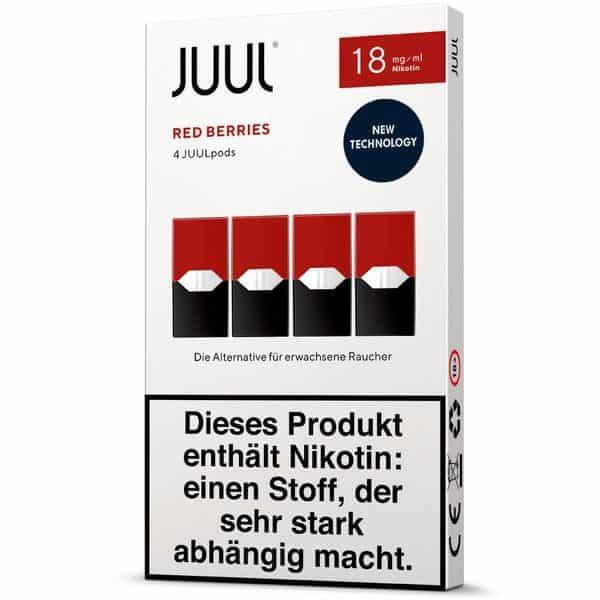 Juul Podpack-red-berries-verpackung-18mg