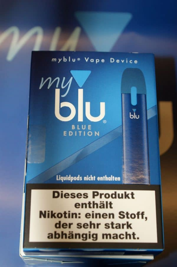myblu Device-set in blau