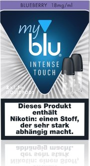 myblu Podpack Intense Blueberry 18mg