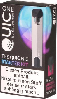 Quic-one-starter-kit-e-zigarette-silber-verpackung
