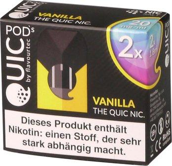 quic-one-podpack-1,8ml-vanilla-20mg-nikotinsalz-verpackung