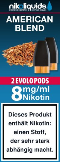 evolo-pods-american-blend-8mg