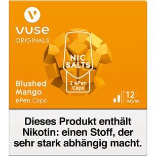 Vuse ePen Caps Blushed Mango 12mg
