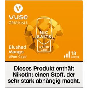 Vuse ePen Caps Blushed Mango 18mg