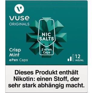 Vuse ePen Caps Crisp Mint 12mg