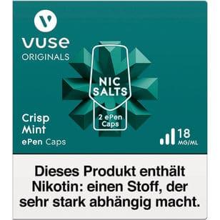 Vuse ePen Caps Crisp Mint 18mg