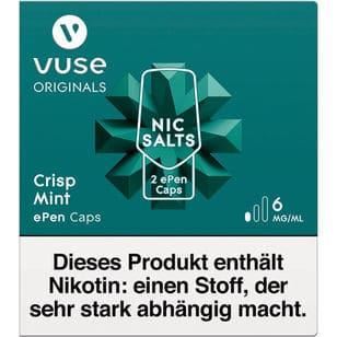 Vuse ePen Caps Crisp Mint 6mg