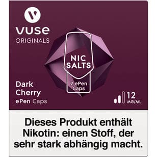 Vuse ePen Caps Dark Cherry 12mg