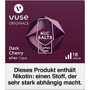 Vuse ePen Caps Dark Cherry 18mg