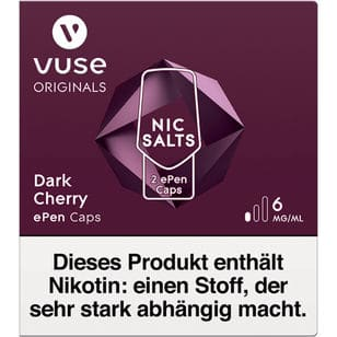 Vuse ePen Caps Dark Cherry 6mg