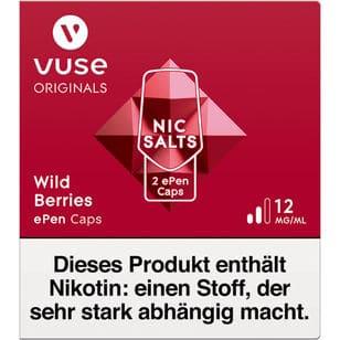Vuse ePen Caps Wild Berries 12mg