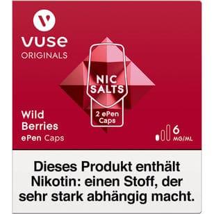 Vuse ePen Caps Wild Berries 6mg