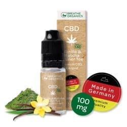 Breathe-Organics-Vanille-Matcha-Gruener-Tee-100mg-CBD
