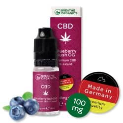 Breathe-Organics-Blueberry-Kush-100mg-cbd-liquid